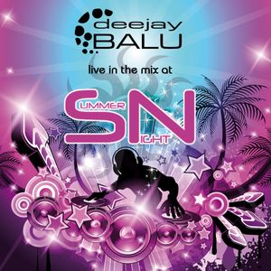 DJ Balu live at Summer Night 2012