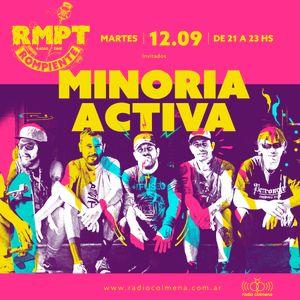 Rompiente #128. Minoria Activa + Vago Sagrado + Matilda + TRImarchi + Solstafir [12.09.2017]