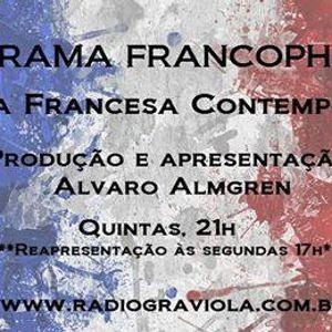 Programa Francophonias, por Alvaro Almgren - 28.04.16
