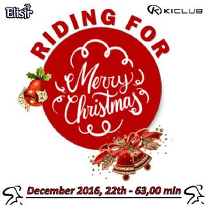Riding for Merry Christmas