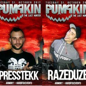 PUMPKIN-GERMANY // PressTekK. b2b RaZeDuZe // HARDTECHNO-AREA