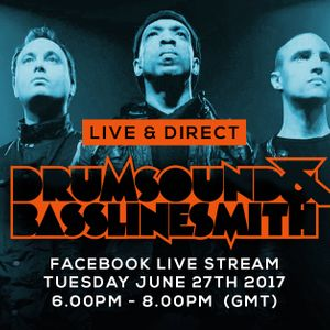 Drumsound & Bassline Smith - Live & Direct #44 with Youngman [27-06-17]