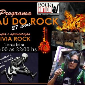 PROGRAMA BAÚ DO ROCK COM BOLIVIA ROCK 12/07/2016