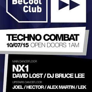 Dj Bruce Lee @ Techno Combat 10.july.2015