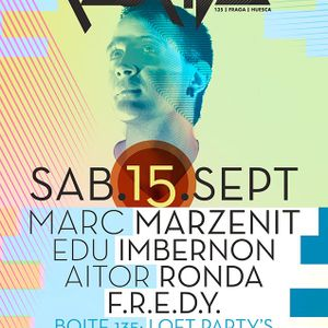 Marc Marzenit -Live- (Paradigma Recordings, Bedrock Music) @ Florida 135 - Barcelona (15.09.2012)