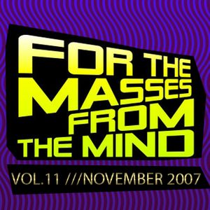 Gonzalo Shaggy Garcia - For the masses, from the mind - Vol.11 (Nov2007)