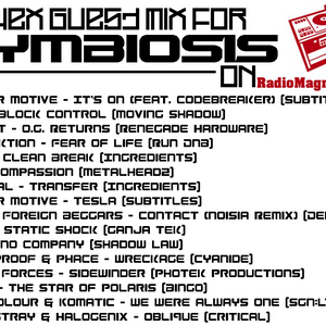 Guest Mix for Symbiosis on Radio Magnetic