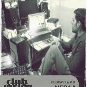 Club Vision#9 Podcast - NECAA (Basswalk Records - Valencia)