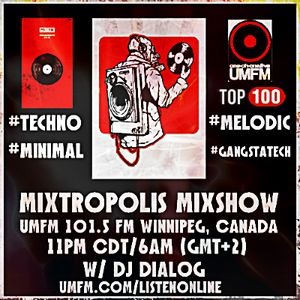 Mixtropolis Mixshow w/ Dj Dialog UMFM 101.5 FM (Sponsored By PromoDJ) 24-06-17