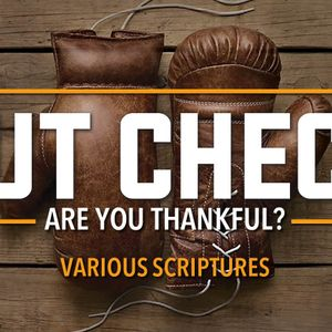 Are You Thankful? (Audio)