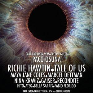 Marcel Dettmann - Live At ENTER Main Week 14 Closing Party, Space (Ibiza) - 02-Oct-2014