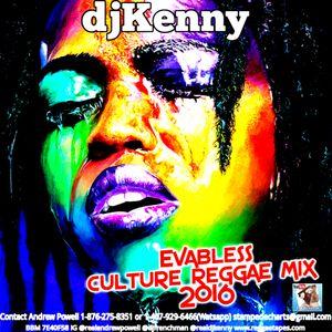 DJ KENNY EVABLESS CULTURE REGGAE MIX 2016 by Frenchman