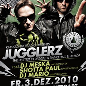 PROMOMIX JUGGLERZ - Fr. 03rd Dec. 2010 - Schräglage Stuttgart - DJ Meska, Dj Mario, Shotta Paul -