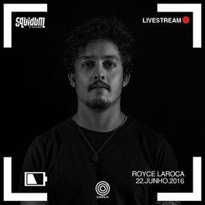 Royce Larøca @ DJ Room TV (Cwb) @ 22.06.2016