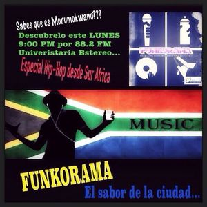 @Funkorama Emisión #46 27/Ab/2015 PODCAST @BabalooRB @UniEstereo882 #Fnk #TrianguloHH #Morumokwano