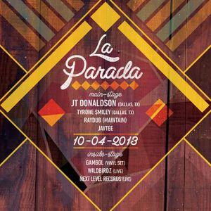 La Parada>Raydub (October 4th, 2013)