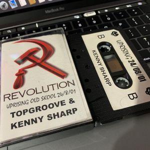 Revolution DJ Kenny Sharp 24-8-01 MC Domer. Uprising old Skool.