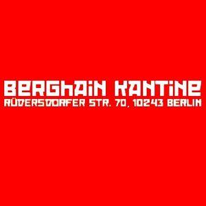 Frank Bean @ Berghain/Kantine Berlin - 2009