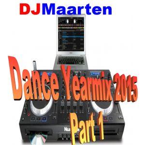 Dance Yearmix 2015, Part 1