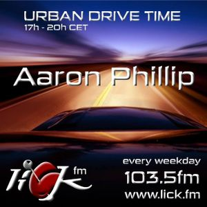 Urban Drive Time with Aaron Phillip - 31st August 2015