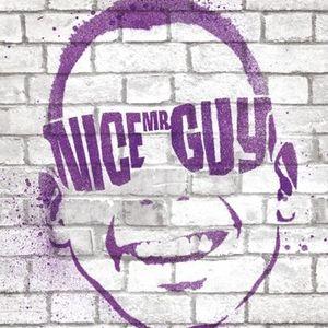 Mr. Nice Guy is having fun.