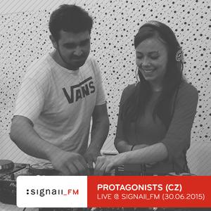 Protagonists - Live @ SIGNAll FM (28.06.2015)