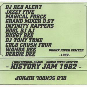 Firstannual Black History Jam 1982 @Bronx River Center SIDE-A