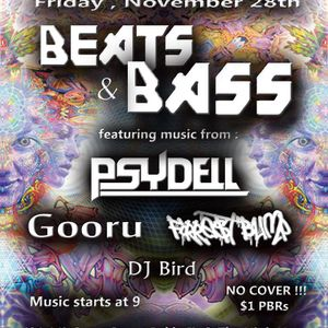 Beats and Bass - Black Friday Edition