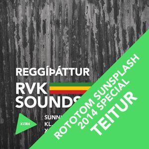 Reggíþáttur RVK Soundsystem #014 (FM Xtra 101,5 - 31.08.2014)