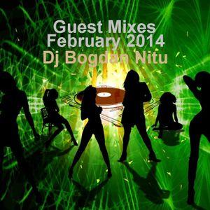 Dj Bogdan Nitu-Guest Mixes (Feb 2014)