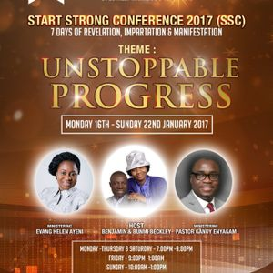 Start Strong Conference Day 1 - UNSTOPPABLE PROGRESS
