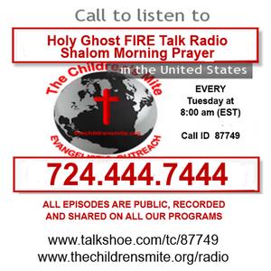 Shalom Morning Prayer 10-20-15