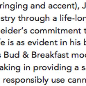 Episode #4 - Joel Schneider, Bud & Breakfast