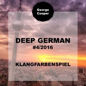 Deep German 4-2016 - Klangfarbenspiel by George Cooper