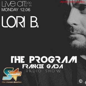 THE PROGRAM - FRANKIE GADA TALKSHOW - Interview with LORI B
