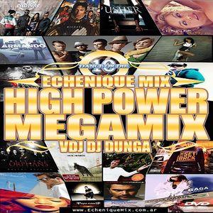 ECHENIQUEMIX - HIGH POWER MEGAMIX 10 - (DVD 2011)