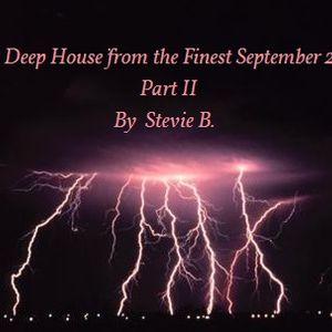 Best Deep House from the Finest September Part II