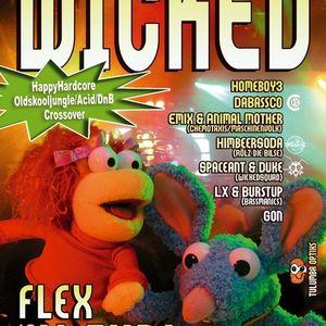 DJ Gon @ (happy) Wicked / Flex / Vienna