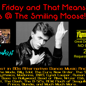 Alternative and New Wave with DJ SamAraI with a Bowie Birthday Tribut: January 13th, 2017part 1