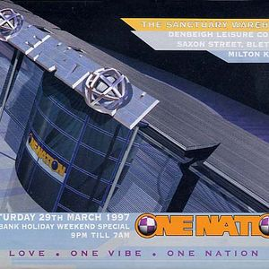 DJ Rap One Nation 'Biggest and the Best' 29th March 1997