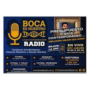 Boca es Nuestro. Programa 40. Jueves 08/06/17 en iRed