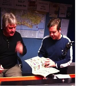 KFMI - FA Cup Winning Football Legend Phil Parkes (QPR & West Ham GK) talks to Julian Cooper