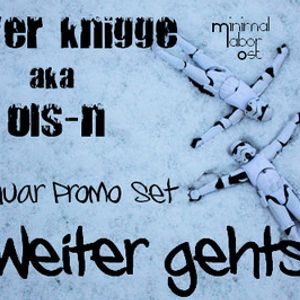 Weiter geht's - January 2010 Promo Mix