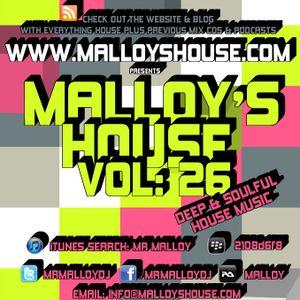 Malloy's House Vol 26 (Deep & Soulful House)