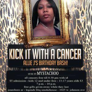{LIVE SET} Kick It With A Cancer - Allie J Birthday Bash