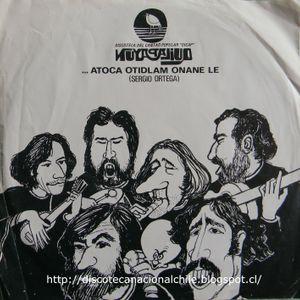 Quilapayún: Singles 1971. Dicap. 1971. Chile