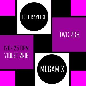 TWC 238 (2016) DJ Crayfish MIX 167 (VIOLET 2k16 DANCE HITS)