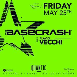 Flavio Vecchi @ The Base Crash, (at Quantic), Milano - 25.05.2018