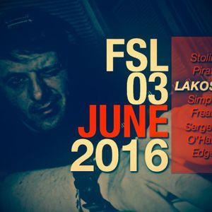 FSL Podcast 03 June 2016 - Lakosta Live