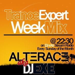 DJ eXe (Alterace) - Trance Expert WeekMix #7 @ANS CH.M. Live - 18.6.11